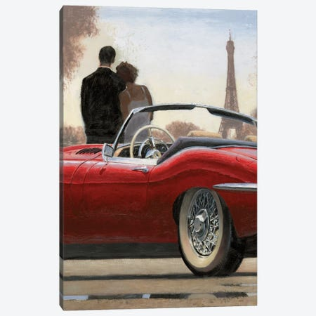 A Ride In Paris I Canvas Print #WAC4227} by Marco Fabiano Canvas Wall Art