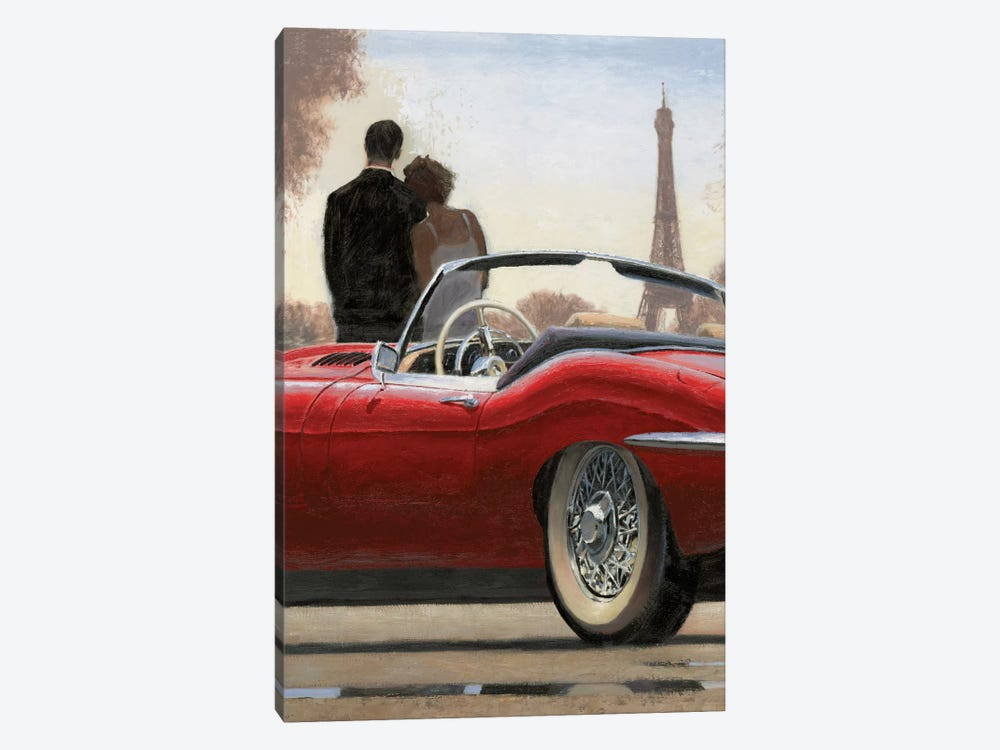 A Ride In Paris I by Marco Fabiano 1-piece Canvas Artwork