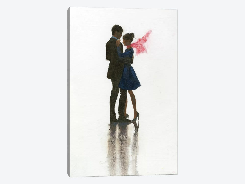 The Embrace II by Marco Fabiano 1-piece Canvas Wall Art