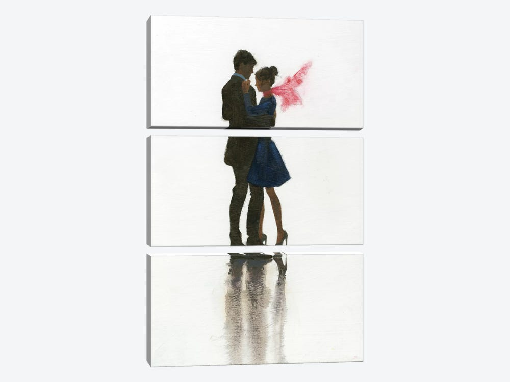The Embrace II by Marco Fabiano 3-piece Canvas Wall Art