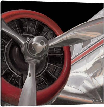 Travel By Air II Canvas Print #WAC4231
