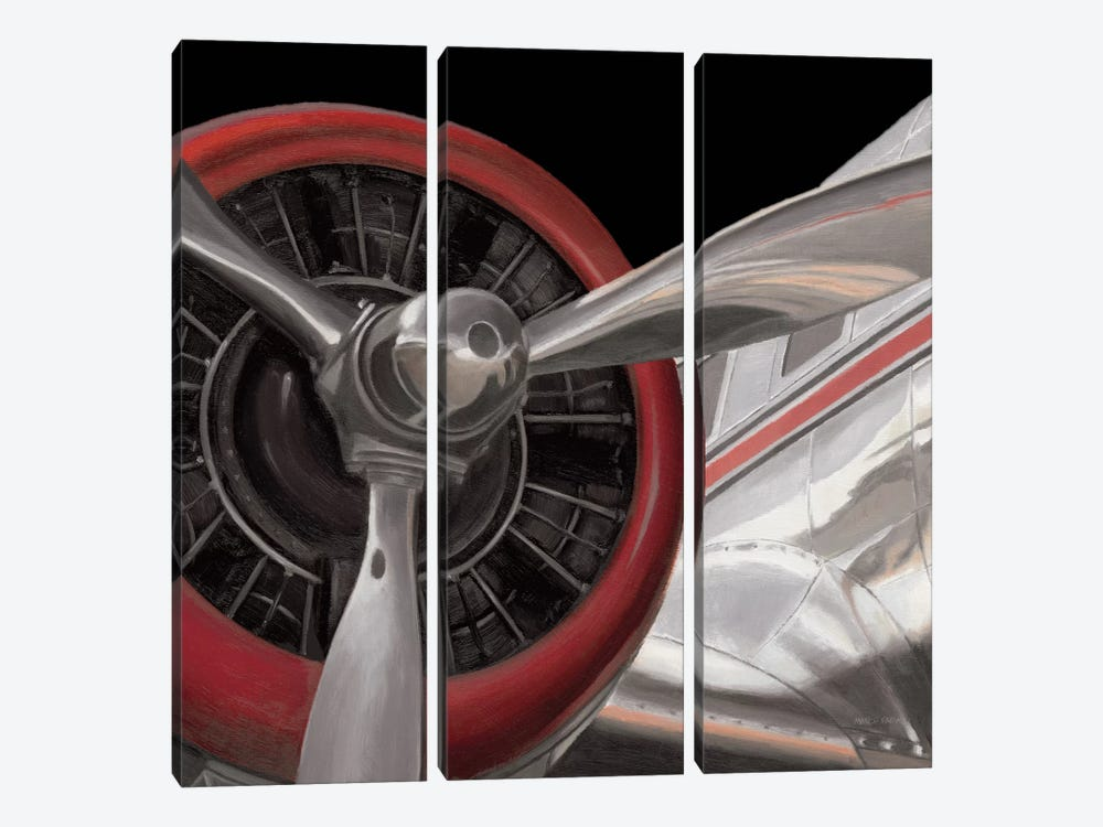 Travel By Air II by Marco Fabiano 3-piece Canvas Art Print