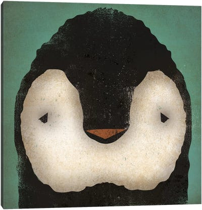 Baby Penguin Canvas Art Print