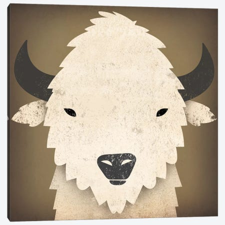 Buffalo I Canvas Print #WAC4235} by Ryan Fowler Art Print