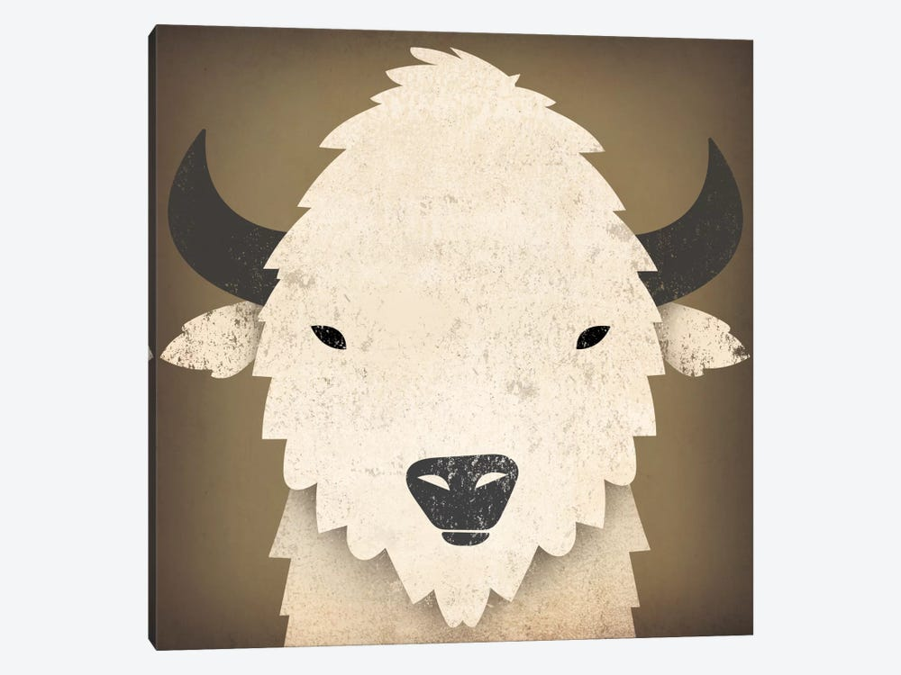 Buffalo I by Ryan Fowler 1-piece Art Print