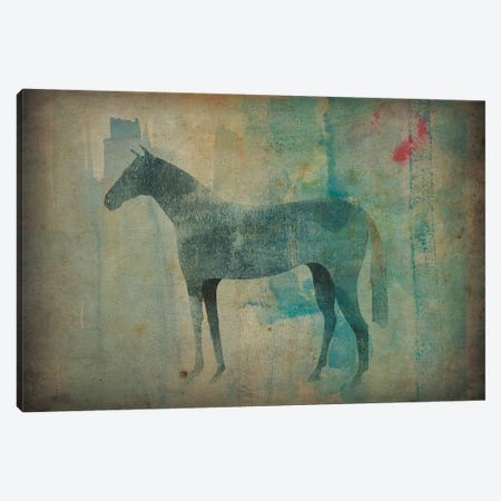 Cheval Noir III Canvas Print #WAC4236} by Ryan Fowler Art Print