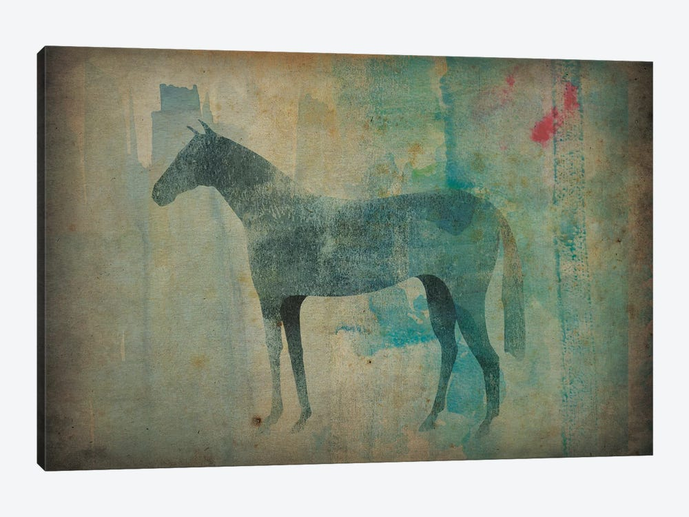 Cheval Noir III by Ryan Fowler 1-piece Canvas Artwork