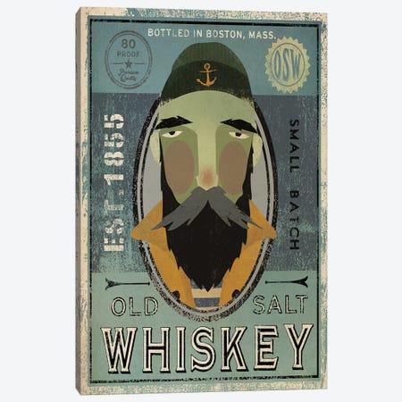 Old Salt Whiskey (Fisherman V) Canvas Print #WAC4244} by Ryan Fowler Canvas Wall Art