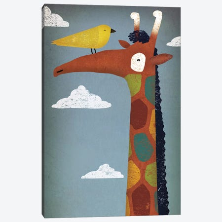 Giraffe Canvas Print #WAC4246} by Ryan Fowler Canvas Artwork