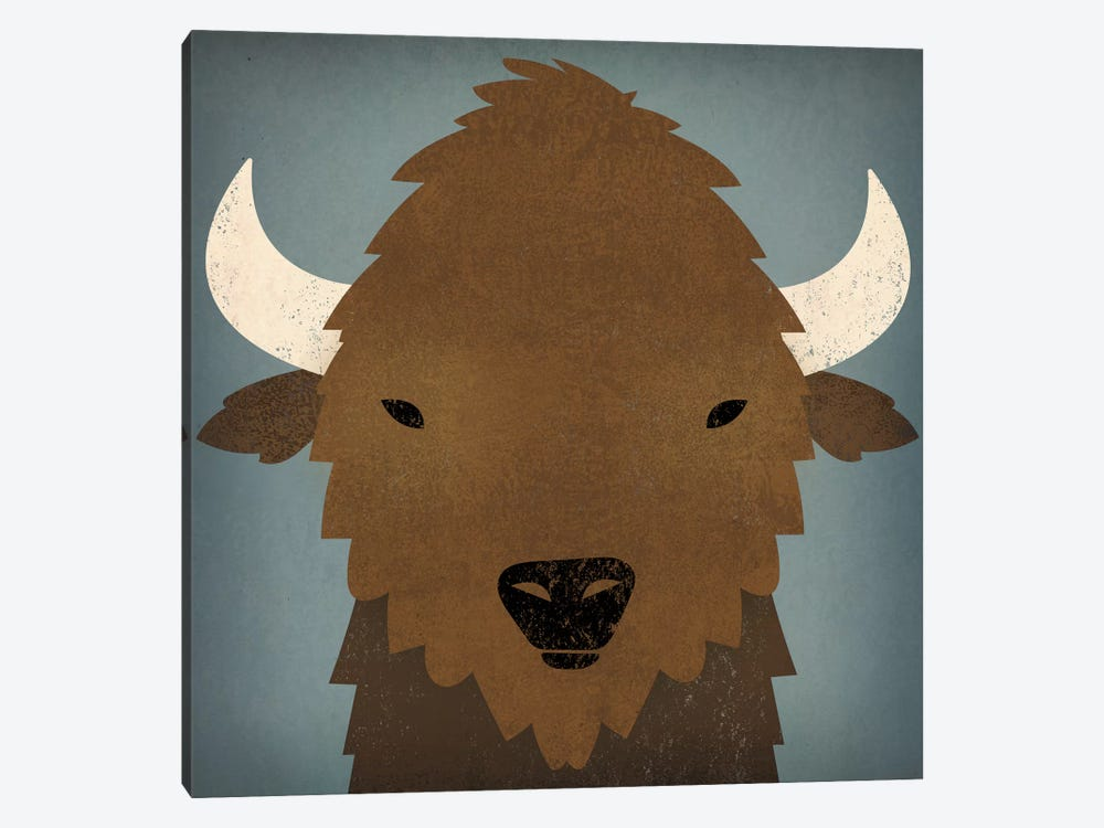Buffalo II by Ryan Fowler 1-piece Canvas Wall Art