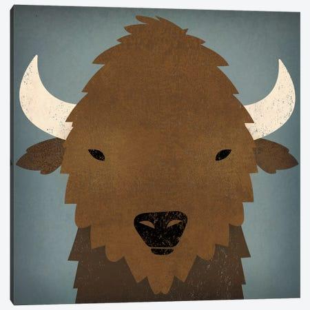Buffalo II Canvas Print #WAC4250} by Ryan Fowler Canvas Wall Art