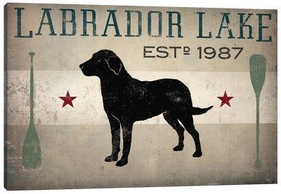 Labrador Lake II Canvas Art Print