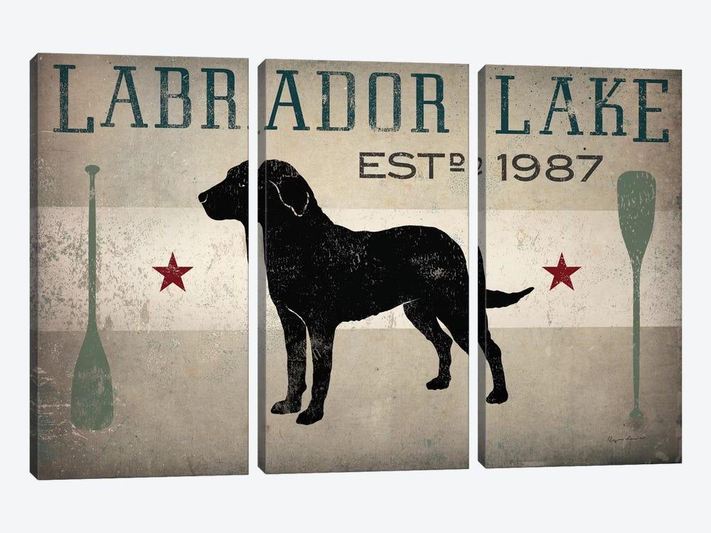 Labrador Lake II by Ryan Fowler 3-piece Art Print