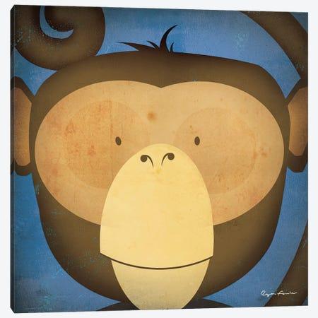 Monkey WOW Canvas Print #WAC4253} by Ryan Fowler Canvas Artwork