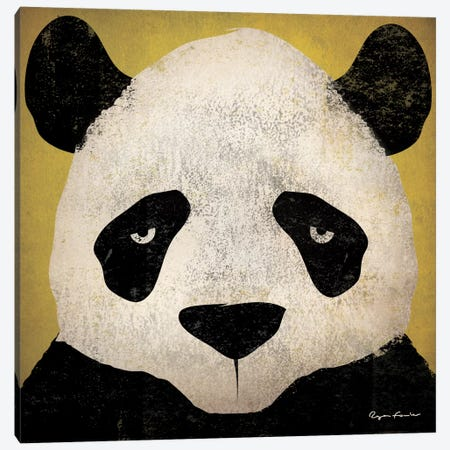 Panda Canvas Print #WAC4255} by Ryan Fowler Art Print