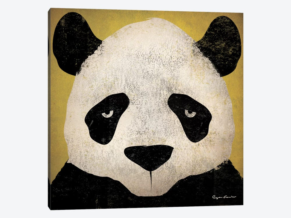 Panda by Ryan Fowler 1-piece Canvas Print