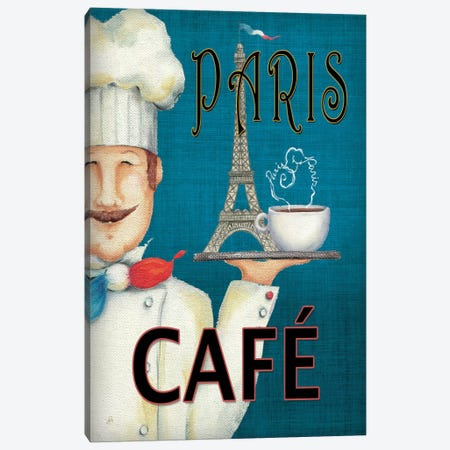 Worlds Best Chef II  Canvas Print #WAC425} by Daphne Brissonnet Canvas Print