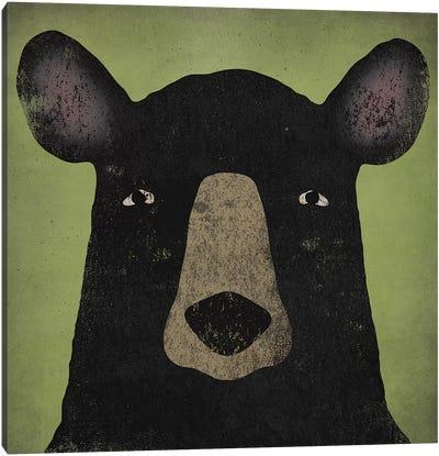 Black Bear Canvas Print #WAC4260