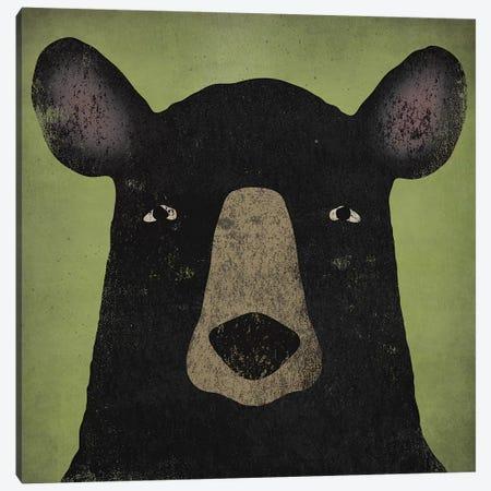 Black Bear Canvas Print #WAC4260} by Ryan Fowler Canvas Print