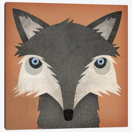 Timber Wolf Canvas Print #WAC4261} by Ryan Fowler Art Print