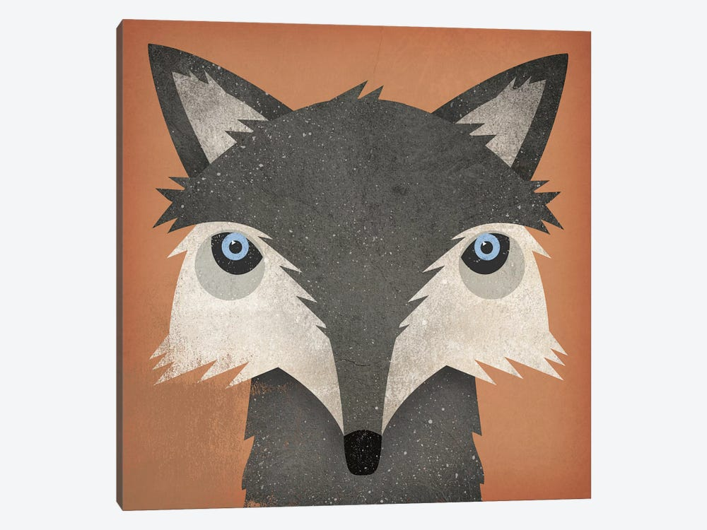 Timber Wolf by Ryan Fowler 1-piece Canvas Wall Art