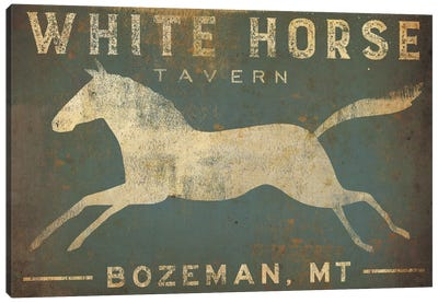 White Horse Tavern Canvas Art Print