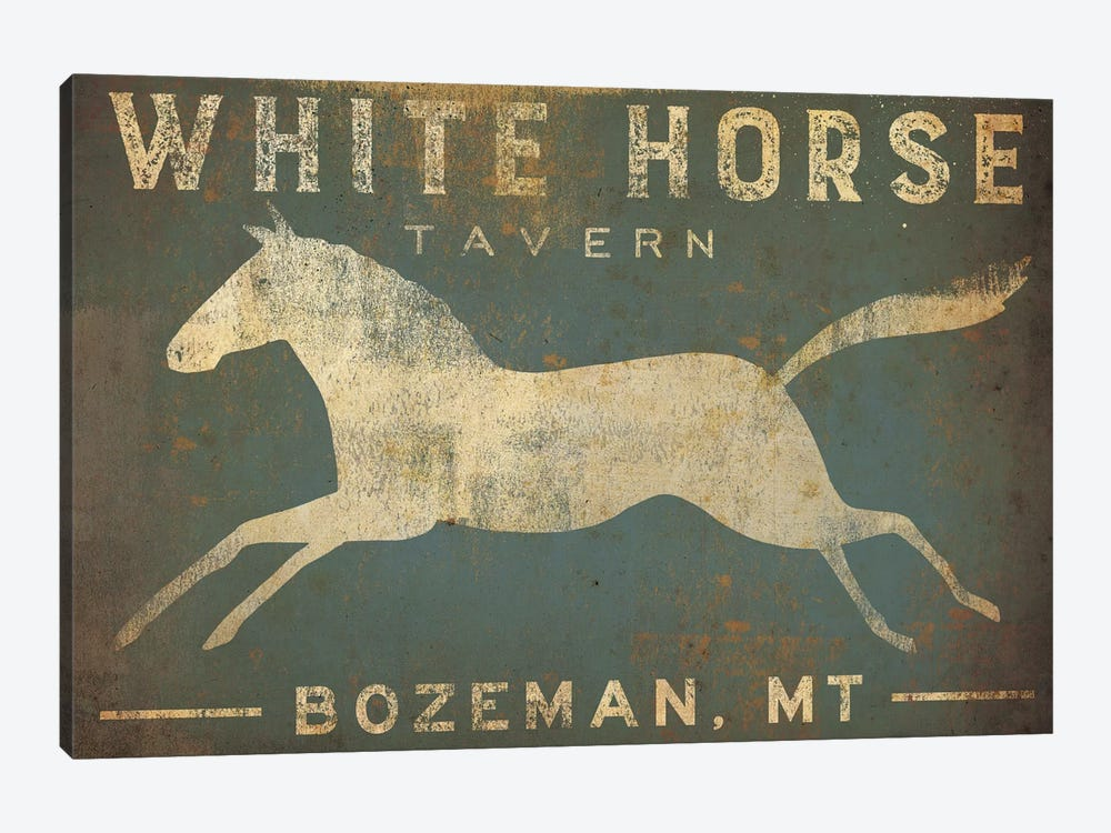 White Horse Tavern by Ryan Fowler 1-piece Canvas Art Print