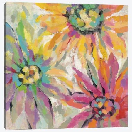 Abstracted Petals I Canvas Print #WAC4265} by Silvia Vassileva Canvas Artwork