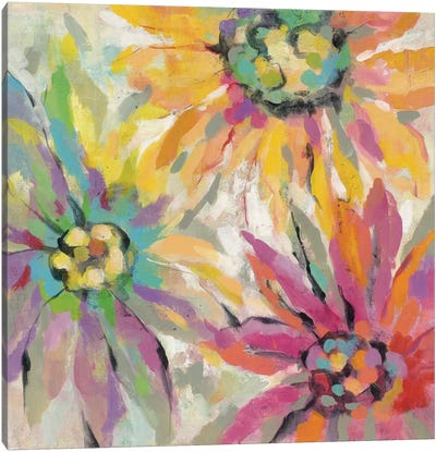 Abstracted Petals I Canvas Print #WAC4265