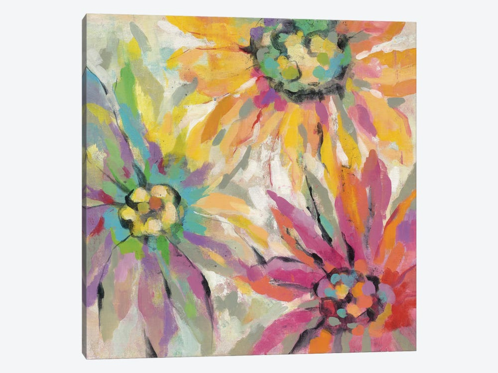 Abstracted Petals I by Silvia Vassileva 1-piece Canvas Wall Art