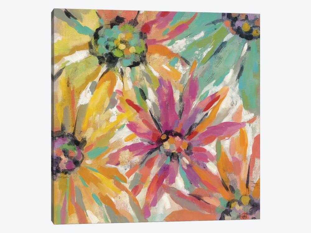 Abstracted Petals II by Silvia Vassileva 1-piece Canvas Print