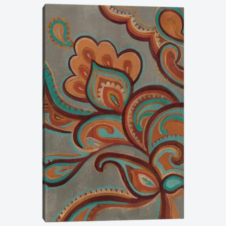 Bohemian Paisley I Canvas Print #WAC4270} by Silvia Vassileva Canvas Art