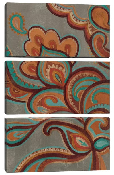 Bohemian Paisley I Canvas Art Print