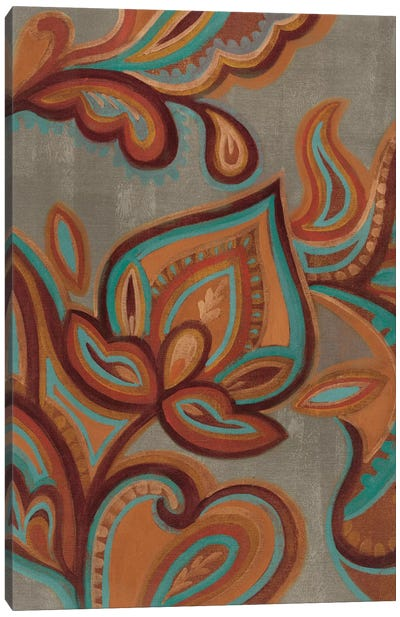 Bohemian Paisley II Canvas Print #WAC4271
