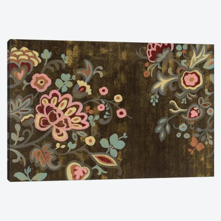Decorative Paisley Canvas Print #WAC4273} by Silvia Vassileva Canvas Art