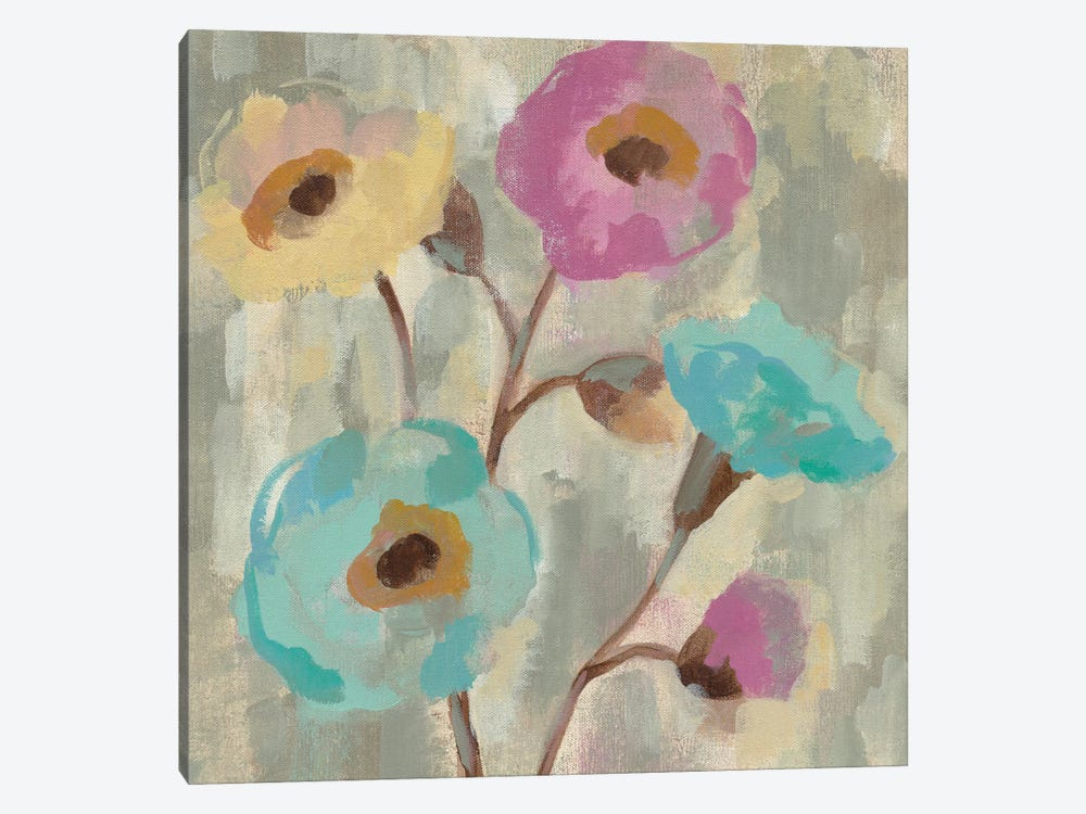 Fog And Flowers II by Silvia Vassileva 1-piece Art Print