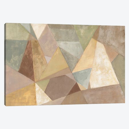 Geometric Abstract Neutral Canvas Print #WAC4278} by Silvia Vassileva Canvas Wall Art