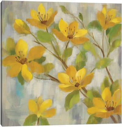 Golden Bloom I Canvas Art Print