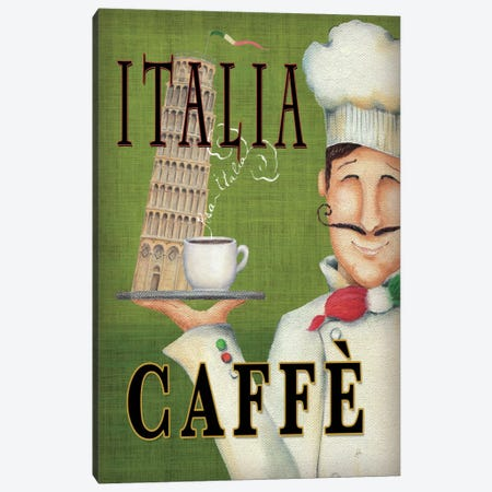 Worlds Best Chef IV  Canvas Print #WAC427} by Daphne Brissonnet Canvas Art Print
