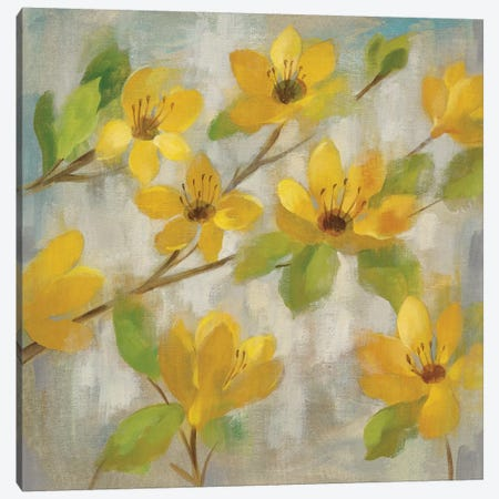 Golden Bloom II Canvas Print #WAC4280} by Silvia Vassileva Art Print
