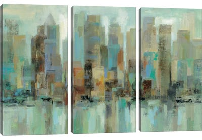 Morning Reflections Canvas Art Print