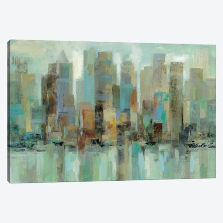 Morning Reflections Canvas Print #WAC4282} by Silvia Vassileva Art Print