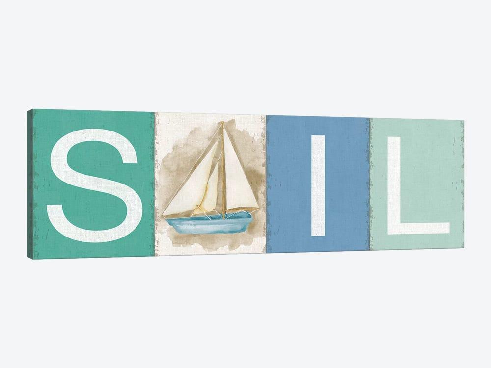 Sail New Horizons by Silvia Vassileva 1-piece Canvas Wall Art