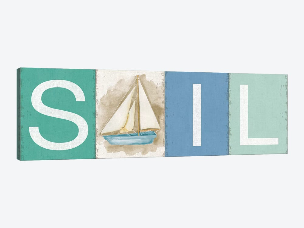 Sail New Horizons by Silvia Vassileva 1-piece Canvas Wall Art