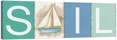 Sail New Horizons Canvas Art Print