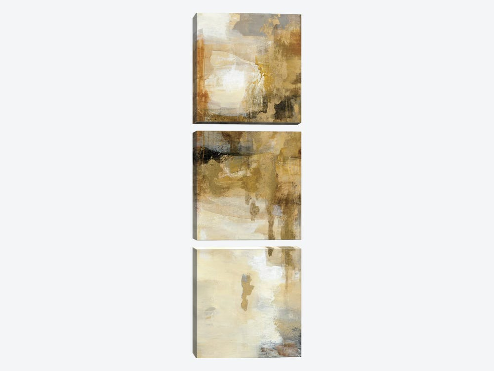 On The Bridge II by Silvia Vassileva 3-piece Canvas Art Print