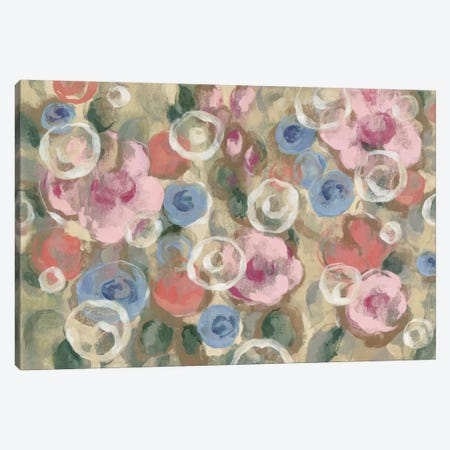 Parisian Floral I Canvas Print #WAC4286} by Silvia Vassileva Canvas Art