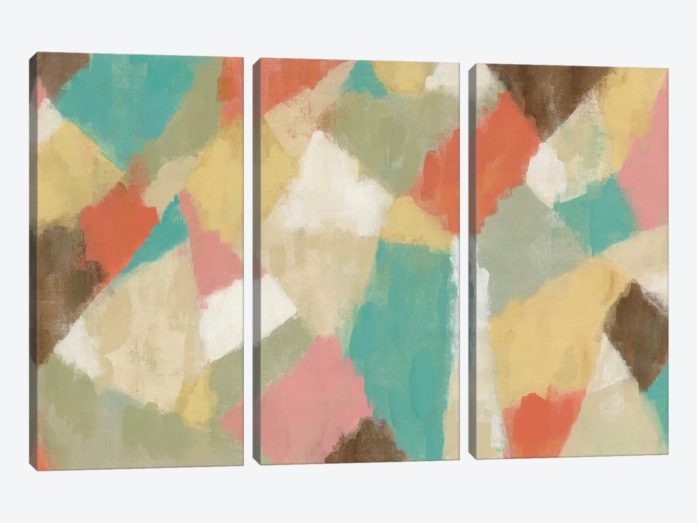 Pinwheel by Silvia Vassileva 3-piece Canvas Artwork
