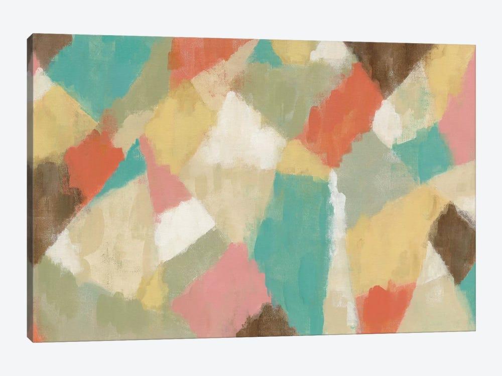 Pinwheel by Silvia Vassileva 1-piece Canvas Wall Art