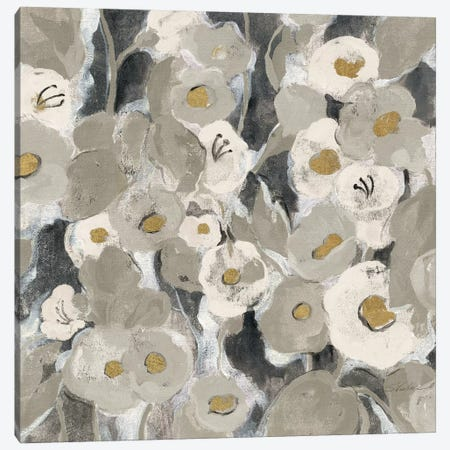 Velvety Florals Neutral II Canvas Print #WAC4291} by Silvia Vassileva Canvas Art